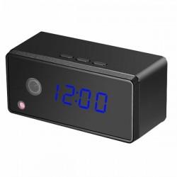 Réveil avec caméra espion Full HD 1080P Wifi vision nocturne rectangle