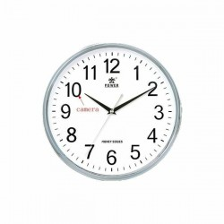 Horloge avec caméra espion Full HD 1080P Wifi ronde beige