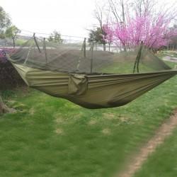Hamac en toile de parachute 2 Places à Moustiquaire