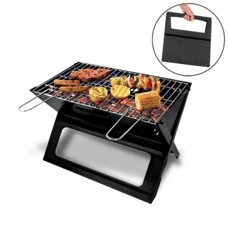 Barbecue pliable et portable