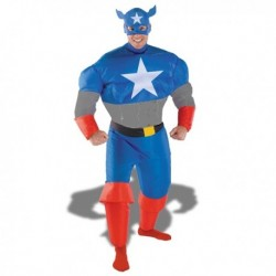 Captain America version gonflable