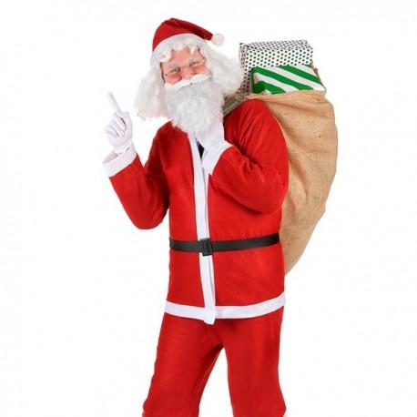 Costume de Père Noël 5 pièces