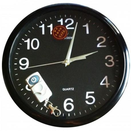 Horloge murale ronde avec caméra espion 4 Go