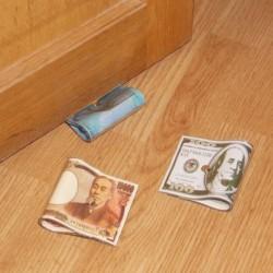Stop-porte billet de banque