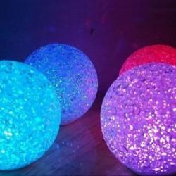 Boule lumineuse LED couleur variable