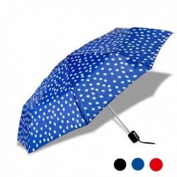 Parapluie pliable imprimé à pois