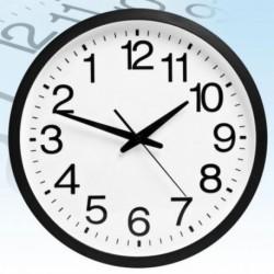 Horloge murale chiffres inversés