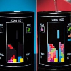 Mug thermo-changeant Tetris