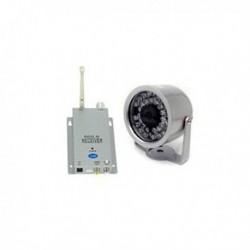 Caméra de surveillance sans fil avec accessoires