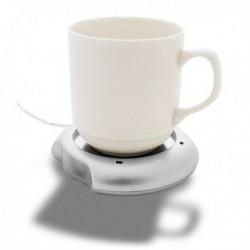 Chauffe-tasse USB pour mug en acier inoxydable ou céramique