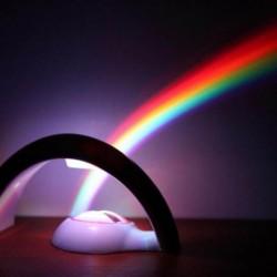 Lampe projecteur arc-en-ciel