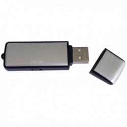 Clé USB dictaphone avec mémoire interne de 2Go