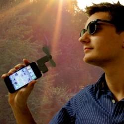 Ventilateur pour iPhone 4 et iPod