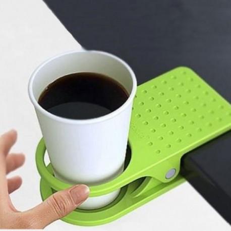 Pince support à verre pour table