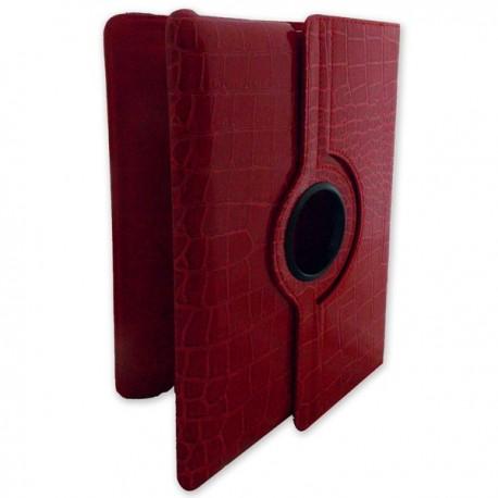 Etui de protection pour iPad 2/3 imitation cuir croco ou lisse